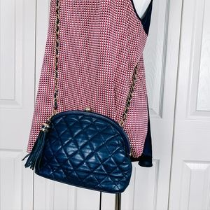VTG Quilted Leather Purse